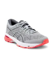 ASICS GT-1000 Sneaker Mid Grey/Carbon/Flash Coral Size 8.5D