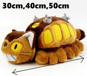 My Neighbor Totoro Neko bus Cat bus Stuffed Plush Doll Kawaii Gift 30cm40cm50cm