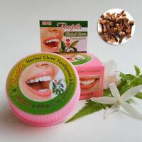 Herbal Clove Toothpaste Whitening Teeth Anti-Bacteria Thai ISME Rasyan 25 g
