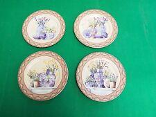 NIB Email de Limoges I. Godinger Dessert Plates - Crafted in Italy - Set of 4