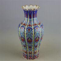 Chinese ancient antique hand make vase YONGZHENG mark