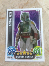 STAR WARS Force Awakens - Force Attax Trading Card #054 Boba Fett