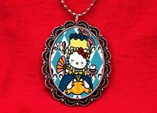 HELLO MARIE ANTOINETTE KITTY PENDANT NECKLACE