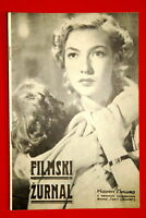 CORINNE LUCHAIRE ON COVER CONFLIT 1939 EXYU MAGAZINE