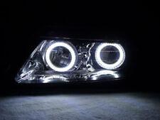 07-08 Acura TL White LED x4 Angel Eye Halo Ring OEM Headlight Type-S