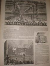 Christmas Dinner Ransom & May's Ipswich and Park Theatre New York fire 1849