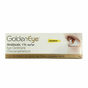 Golden Eye 1% Eye Ointment - 4g