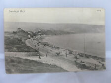 1910 - Swanage Bay Postcard - Posted