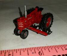 1/64 ERTL custom ih farmall h nf tractor w/ mtd row crop cultivator farm toy