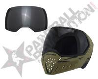 Empire EVS Paintball Goggle Mask w Ninja Lens Olive Black