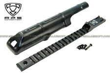 A.P.S. Airsoft Toy AK Cover With Tactical Rail Rear Sight For AEK Series AEG