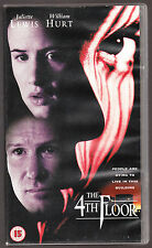 THE 4TH FLOOR - JULIETTE LEWIS, WILLIAM HURT - VHS PAL (UK) VIDEO - RARE