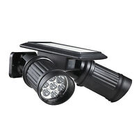 Solar 14 LED Motion Sensor Light Ultra Bright Rotating Spotlight Security Path