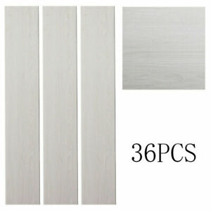 36pcs PVC self-adhesive vinyl flooring commercial household wood grain flooring