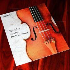 Yamaha String Instruments BROCHURE Artida violin cello viola catalog YVN500S V7G