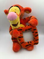 Walt Disney Store Tigger Plush Picture Frame Winnie The Pooh Stuffed Toy Animal