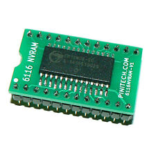 6116 NVRAM for Pole Position Arcade Game - Keeps High Score Without Batteries