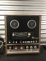Sansui SD-5000 4 Channel Stereo Reel to Reel Recorder Tape Deck **Works** Video