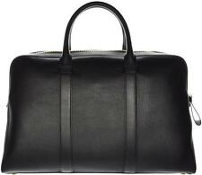 Tom Ford Buckley Leather Trapeze Briefcase Bag Large Black 14BG0115 $3460