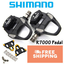 Shimano 105 SPD SL PD R7000 Pedals with SH11 Cleat Road Bike Black