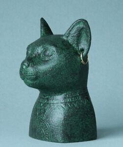 Bastet - Katzengöttin - PARASTONE Museumsskulptur EG13 - ART EGYPT Figur