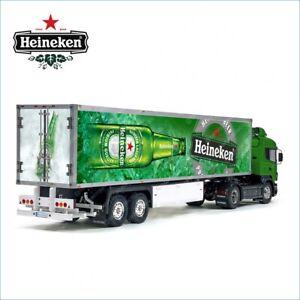 Tamiya 56302 1/14 Reefer Box Trailer Heineken Beer Laminated Side Decals Set
