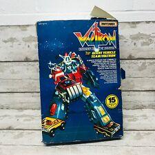 Vintage 80s Matchbox Voltron Giant Vehicle Team Set in Original Box Japan Rare