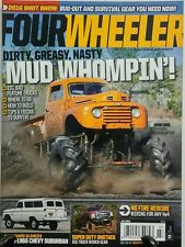 Four Wheeler July 2016 Mud Whompin Dirty Greasy Nasty Chevy FREE SHIPPING sb