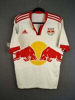 3.5/5 New York Red Bulls jersey large 2009 2011 home shirt soccer Adidas ig93