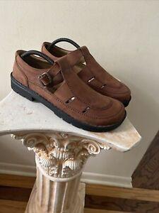 Birkenstock Footprints Fisherman Shoes US 13/13.5 EUR 46 Brown Shoe NEW OTHER