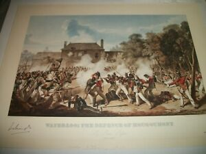 Waterloo: The Defence Of Hougoumont, by Denis Dighton #441 of 850. Signed