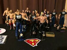 WWE Action Figure BUNDLE - 14 figures and 18 Nano Metalfigs - plus accessories