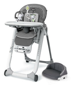 Chicco Polly Progress Relax 5-in-1 Multichair Kids Highchair Recliner Silhouette