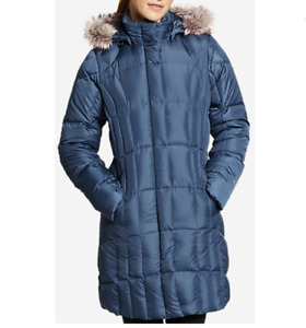 NEW 18 Eddie Bauer Womens Lodge Down Parka 5 Color Available $269