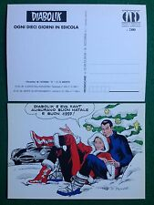 Cartolina Card DIABOLIK BUON NATALE ill. Paludetti , Promocard n 46/700 (1996)
