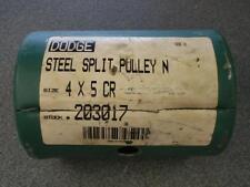 DODGE 203017 4X5 CR STEEL SPLIT PULLEY