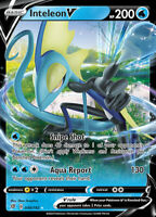 Pokemon 1x NM-Mint Holo Inteleon V - 049/192 - Ultra Rare Rebel Clash