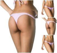 Coqueta TEENY Mini Swimwear Swimsuit Women's Bottom Lavender Thong Bikini Sexy