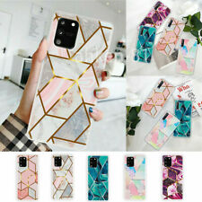 Geometric Marble Case Soft Silicone Cover For Samsung Note 20 Ultra S20 FE A21S