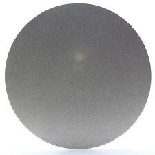 "NO CENTER HOLE 8"" inch Grit 240 Diamond Coated Flat Lap Disk Grinding Wheel Gems"