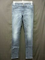 7 For All Mankind Jeans Roxanne Skinny Stretch Dark Wash Women Size 28 (BE222)