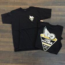 LOSER MACHINE COMPANY men's  t-shirt, MEDIUM, black