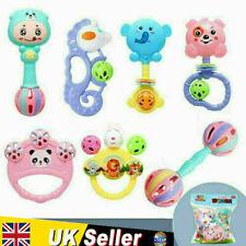 7Pcs Baby Rattle Toys Set Kids Music Sensory Toys Shaker Musical Education Gift