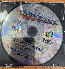 Rockman Mega Man Pc Engine Pce Works Turbografx Cd Disc Nec Capcom