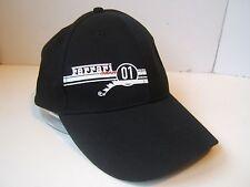 Ferrari Gear 01 Hat Black Hook Loop Baseball Cap
