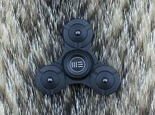 WE Company Fidget Tri Spinner Black Titanium Hand Top Ceramic Ball Bearing S02D
