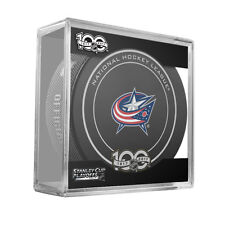 2017 COLUMBUS BLUE JACKETS STANLEY CUP PLAYOFFS OFFICIAL GAME PUCK