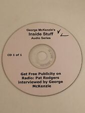 Inside Stuff Get Free Publicity & Increase Profits Pat Rodgers Audio CD