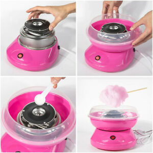 Electric Candy Floss Maker Professional Cotton Sugar Machine Kid Party FREE SHIP