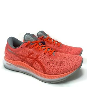 Asics Womens EvoRide Running Shoes Size 9.5 Coral Pastel Athletic 1012A677